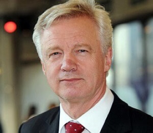 David Davis, Brexit secretary for 2 years