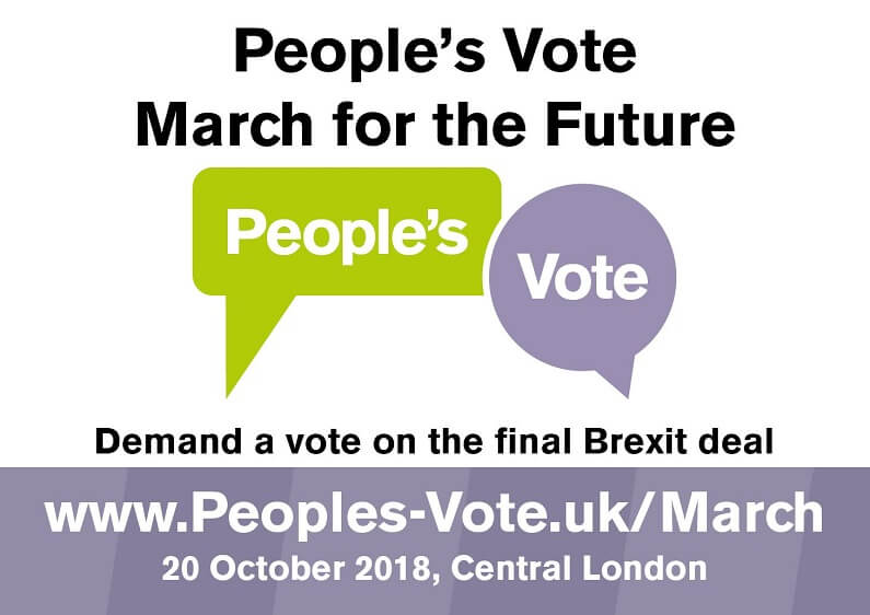 Demand a say on the final deal, the People's Vote March