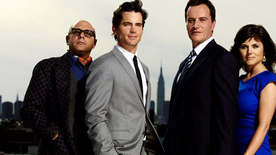 Neal Caffrey, a convicted conman, works with the FBI under the guidance of agent Peter Burke, to solve crimes